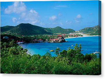 Resort Setting, Saint Barth, West Canvas Print by Panoramic Images