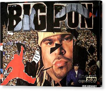 Respect The Punisher Big Pun  Canvas Print by Isis Kenney