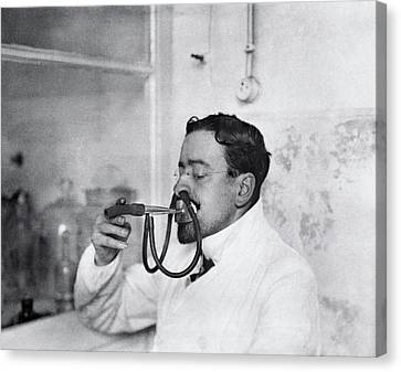 Respiratory Physiology Research Canvas Print by National Library Of Medicine