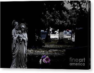 R.i.p Canvas Print - Rest In Peace by Douglas Barnard