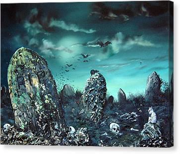 Rest In Peace Canvas Print by Jean Walker