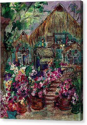 Restaurante Bougainville Canvas Print
