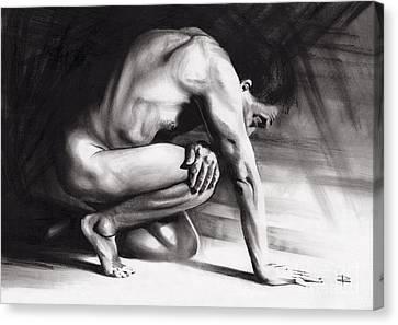 Resting Il Canvas Print