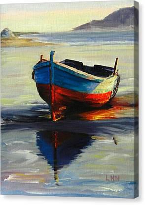Resting, Peru Impression Canvas Print