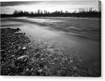 Restless River Canvas Print by Davorin Mance