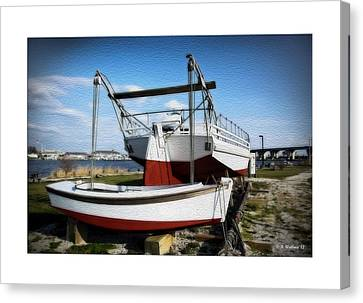 Jack Kent Canvas Print - Restoration Of The Ann Mcgarvey by Brian Wallace