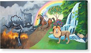 Restoration Canvas Print
