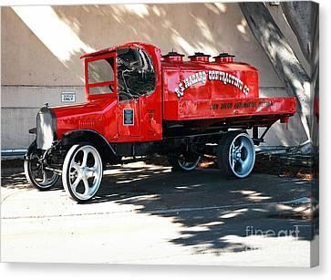 Restored 1922 Mack Truck Canvas Print