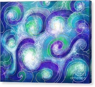 Resurface - Refaire Surface Canvas Print by Louise Lamirande