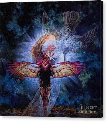 Resurrection Canvas Print by Lianne Schneider