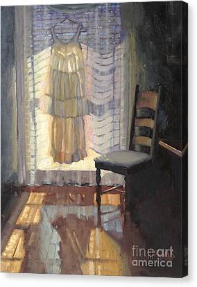 Resurrection  Canvas Print by Nancy  Parsons
