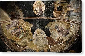 Resurrection Of Adam And Eve Canvas Print
