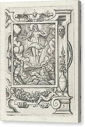 Resurrection, Virgilius Solis Canvas Print