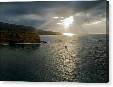 Palos Verdes Cove Canvas Print - Retire Into Yourself Photography By Denise Dube by Denise Dube