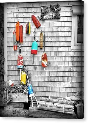 Retired Buoys Canvas Print