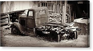 Retired Dodge Truck Canvas Print