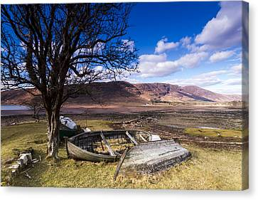Retired Canvas Print by Karl Normington