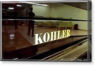 Retired Kohler Piano Canvas Print by Danielle  Parent