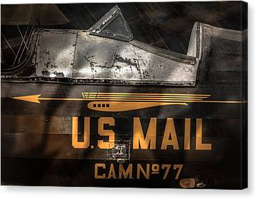 Retired Mail Carrier - Pitcairn P-6 Mailwing 1929 Canvas Print by Gary Heller