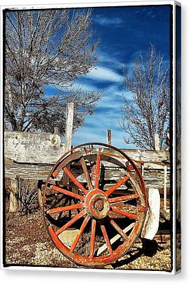 Retirement Blues - U S 395 California Canvas Print by Glenn McCarthy Art and Photography