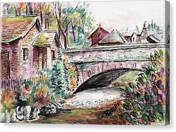 Retreat At Grassmere Canvas Print