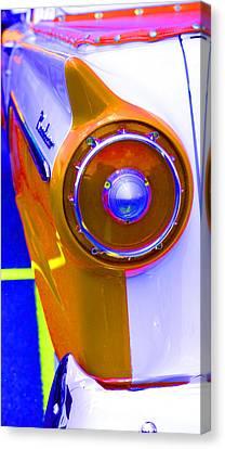 Retro Auto Three Canvas Print by Denise Beverly