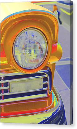 Retro Auto Two Canvas Print by Denise Beverly