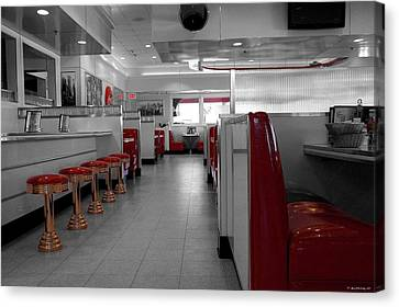 Retro Deli Canvas Print by Glenn McCarthy Art and Photography