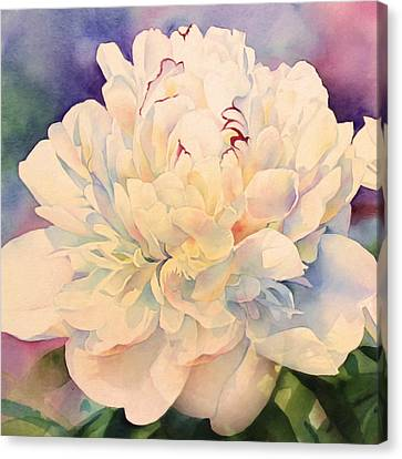 Retro Petals Canvas Print by Georgiana Romanovna