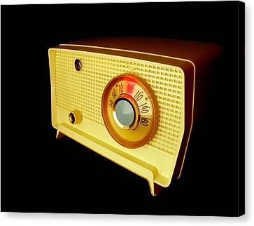 Vacuum Canvas Print - Retro Radio by Jim Hughes