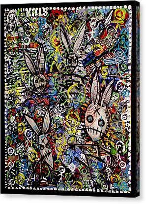 Return Of The Bunny Men        Canvas Print