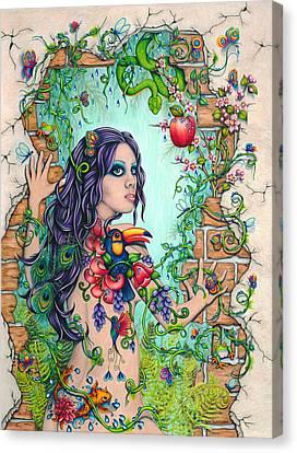 Return To Eden Canvas Print