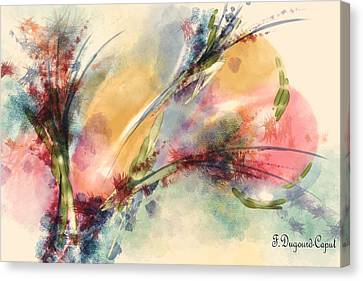 Reve Canvas Print by Francoise Dugourd-Caput