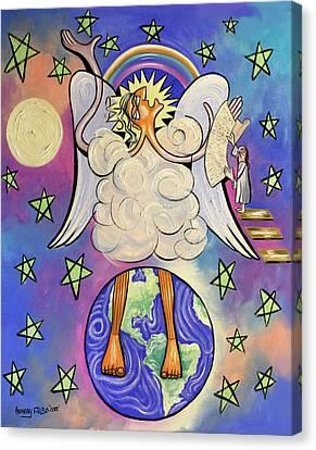 Revelation Chapter 10 Canvas Print by Anthony Falbo