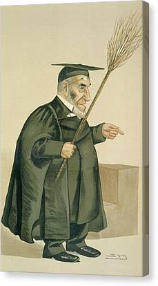 Reverend James Leigh Joynes Canvas Print by Leslie Matthew Ward