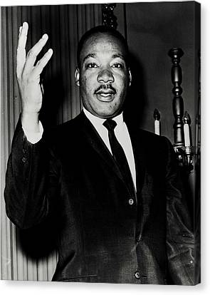 Reverend King Canvas Print by Benjamin Yeager