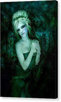 Atlantis Canvas Print - Reveries Of Atlantis by Emerald De Leeuw