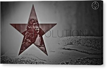 Revolution Canvas Print by Beni Cufi