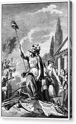 Revolutionary War: France Canvas Print by Granger