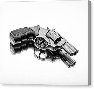 Revolver Canvas Print by Edward Fielding