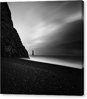 Reynisfjara Canvas Print by Frodi Brinks