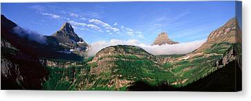 Reynolds Mountain, Glacier National Canvas Print by Panoramic Images