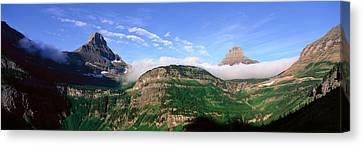 Reynolds Mountain, Glacier National Canvas Print