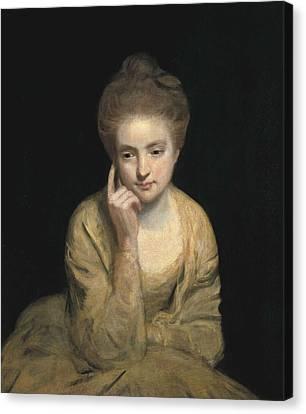 Reynolds, Sir Joshua 1723-1792. Studio Canvas Print by Everett