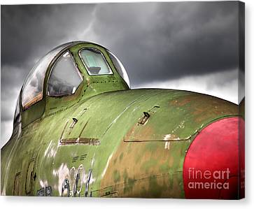 Rf-84 Thunderflash Canvas Print