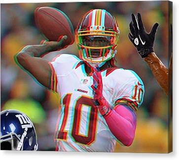 Rg3 In 3d Canvas Print