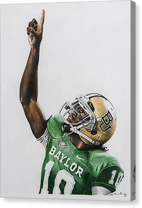 Rgiii Canvas Print by Brian Broadway