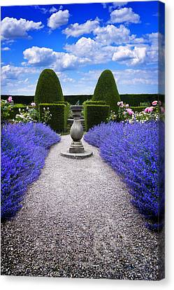 Canvas Print featuring the photograph Rhapsody In Blue by Meirion Matthias