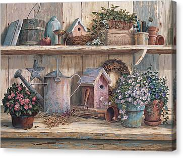 Rhapsody In Rose Canvas Print by Michael Humphries