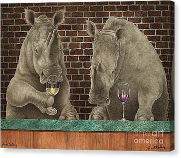 Rhine Tasting... Canvas Print by Will Bullas